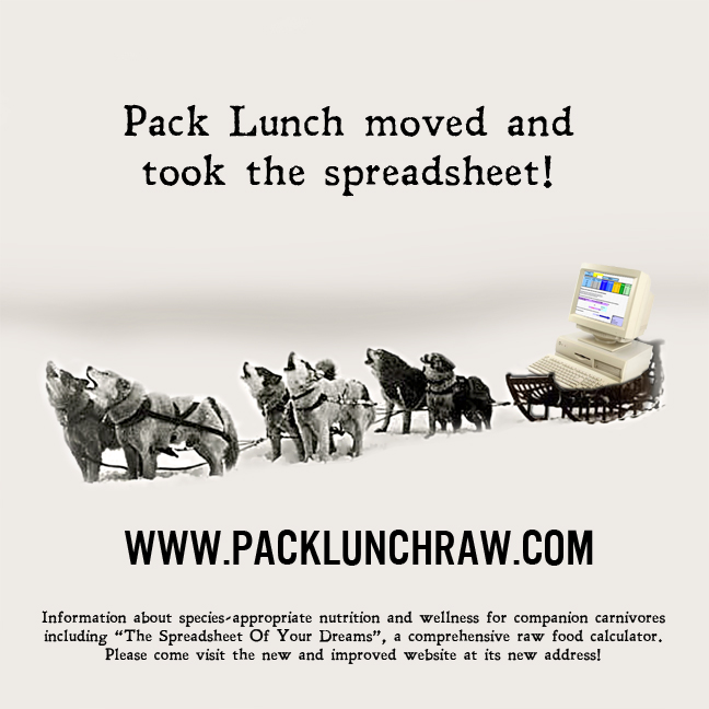 Pack Lunch Moved And Took The Spreadsheet!