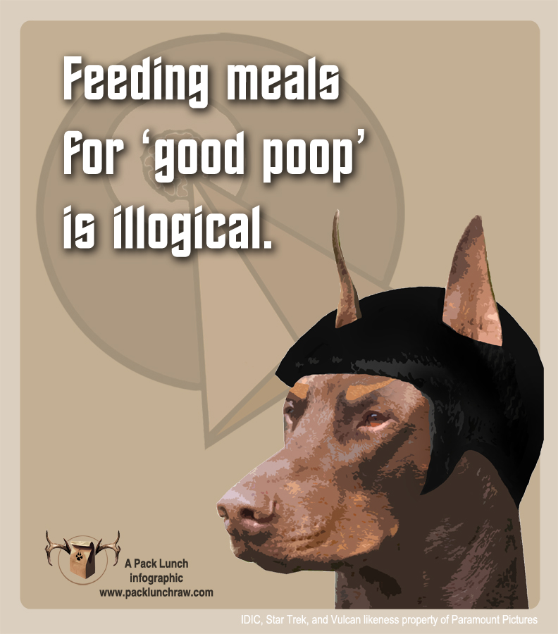 IDIC Poop (Simple) -- www.packlunchraw.com
